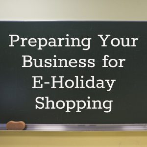 E-Holiday Shopping