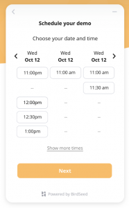 Website Google Meeting Scheduler Software